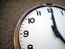 Free Old Clock Royalty Free Stock Photography - 4880397