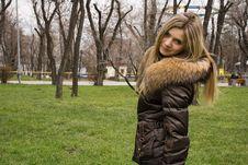 Free Beautiful Blonde Girl Stock Image - 4880481