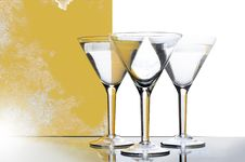 Free Glasses For Martini Stock Photo - 4881080