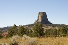 Free Devils Tower National Monument, Wyoming Stock Image - 4881141