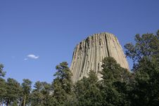 Free Devils Tower National Monument, Wyoming Stock Images - 4881144