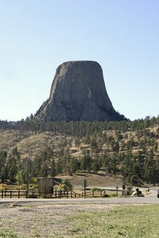 Free Devils Tower National Monument, Wyoming Royalty Free Stock Photo - 4881365