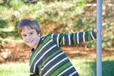 Free Little Boy At The Park Stock Photos - 4882123