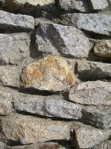 Free Wall From The Stones Stock Photography - 4883832