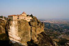 Free Monastery In The Sky Royalty Free Stock Photography - 4884297