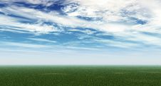 Free Green Field Royalty Free Stock Image - 4884456