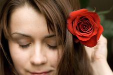 Free Rose Girl Stock Images - 4884474