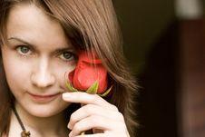 Free Rose Girl  5 Royalty Free Stock Photo - 4884535