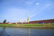 Free The Peter And Paul Fortress Royalty Free Stock Images - 4885569