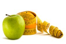 Free Apple And The Dieting Orange Royalty Free Stock Photo - 4885765