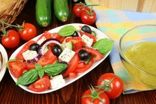 Free Greek Salad Stock Images - 4886334