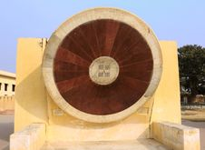 India Jaipur Jaipur Observatory Sundial Stock Images