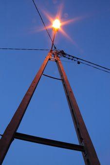 Free Lantern By Night Stock Images - 4887254