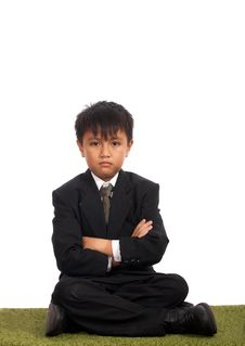 Free Picture Of A Young Businessman Stock Photos - 4887503