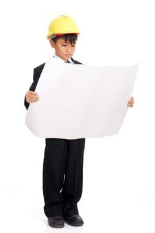 Young Male Engineer Royalty Free Stock Photography