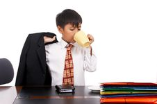 Free Young Businessman Stock Photo - 4887680