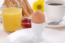 Free Breakfast. Royalty Free Stock Image - 4887806