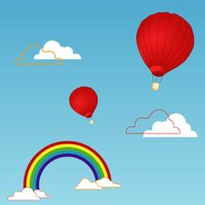 Free Airballoons Royalty Free Stock Images - 4888119