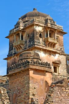 India, Chittorgarh: Citadel Royalty Free Stock Images