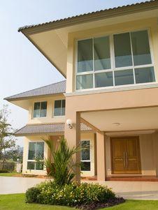 Luxury Villa Royalty Free Stock Images