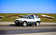 Pretty Suv Royalty Free Stock Images