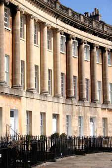 Free Royal Crescent Royalty Free Stock Photos - 4888858