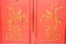 Free Chinese Temple Doors Stock Photo - 4888930