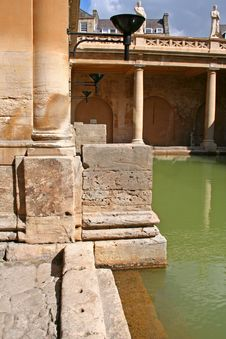 Free Roman Bath Stock Photography - 4889032