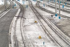 Free Railroad Ways Stock Image - 4889121