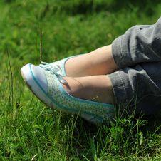 Free Resting Feet Royalty Free Stock Photo - 4889955