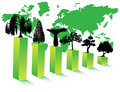 Free Trees And Graph Royalty Free Stock Photography - 4891307