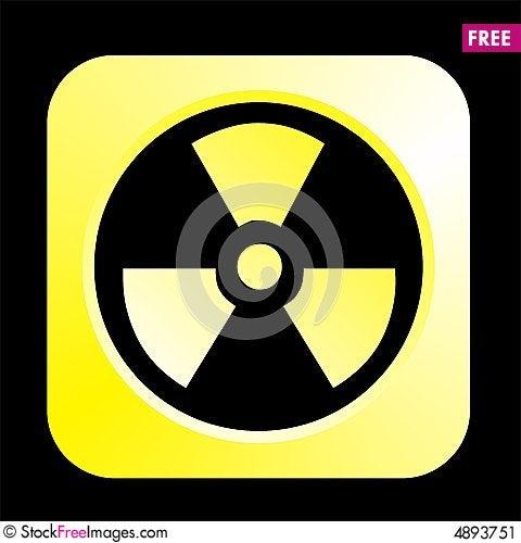 Free Radiation Logo Stock Image - 4893751