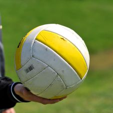 Free Volley Ball Royalty Free Stock Photos - 4890278