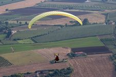 Free Flying Over The Plains Royalty Free Stock Photography - 4890577