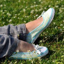 Free Resting Feet Stock Photos - 4890673