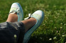 Free Resting Feet Royalty Free Stock Image - 4890806