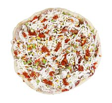 Free Raw Pizza Royalty Free Stock Photo - 4891045