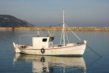 Free Fishboat Royalty Free Stock Photography - 4891107