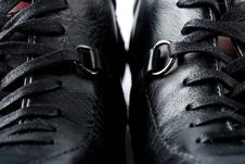 Free Two Closeup Shoes Royalty Free Stock Photo - 4891815
