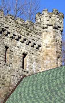 Free Stone Castle Tower Stock Image - 4892281