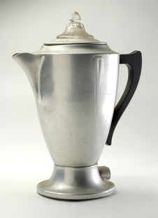 Free Old Fashioned Coffee Pot Royalty Free Stock Photos - 4892458