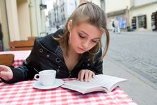 Free The Student In Cafe Street In Old City Stock Photo - 4893280