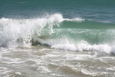 Free Ocean Wave At The Beach Stock Photography - 4893622