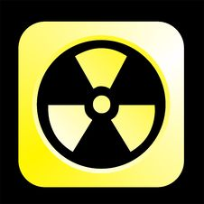 Free Radiation Logo Stock Image - 4893751