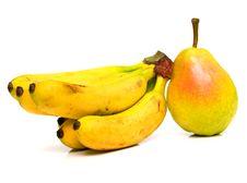 Free Pear And Bananas Stock Photos - 4894313