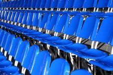 Free Stadium Seats Royalty Free Stock Photo - 4894325