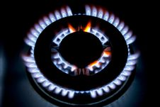 Free Flames Of Gas Royalty Free Stock Images - 4894409