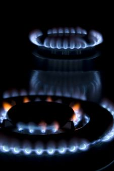 Free Flames Of Gas Stock Image - 4894411