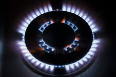 Free Flames Of Gas Royalty Free Stock Photos - 4894418