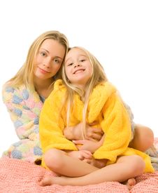 Free Mother And Her Daughter Stock Photos - 4894643